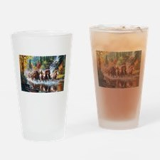 Wild Creek Run Drinking Glass