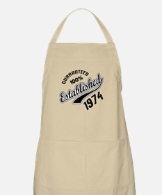 Guaranteed 100% Established 1974 Apron