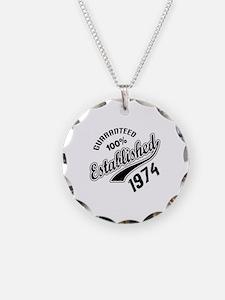 Guaranteed 100% Established Necklace