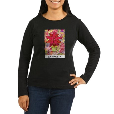 La Maceta Women's Long Sleeve Dark T-Shirt
