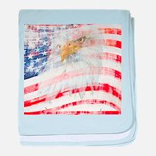 USA Proud baby blanket