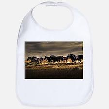 Wild Horses Running Free Bib