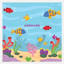 Ocean Aquatic Personalized Invitations