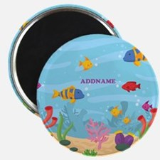 Ocean Aquatic Personalized Magnet
