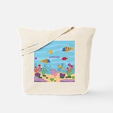 Ocean Aquatic Personalized Tote Bag