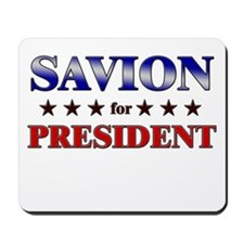 SAVION for president Mousepad