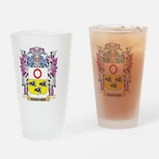Barbaro Coat of Arms (Family Crest) Drinking Glass