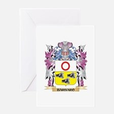 Barbaro Coat of Arms (Family Crest) Greeting Cards