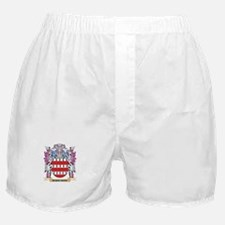 Barbarou Coat of Arms (Family Crest) Boxer Shorts