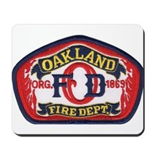 Oakland Fire Dept Mousepad