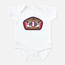 Oakland Fire Dept Infant Bodysuit