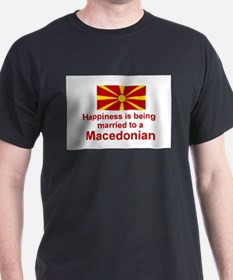 Happily Married To Macedonian T-Shirt