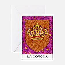 La Corona Greeting Card