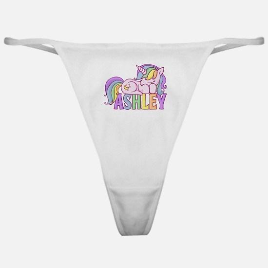 Ashley Unicorn Classic Thong