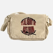 It's All About The Bass... Drum Messenger Bag
