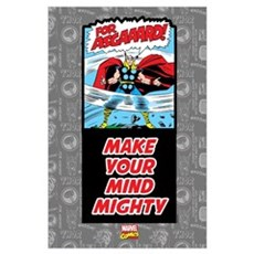 Thor Mighty Mind Wall Art Poster