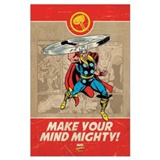 Thor Mighty Wall Art Poster