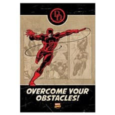 Daredevil Obstacles Wall Art Canvas Art