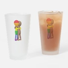 Hug Drinking Glass