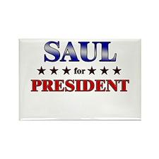 SAUL for president Rectangle Magnet
