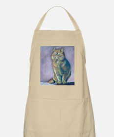 Nigel - Red Exotic Shorthair BBQ Apron