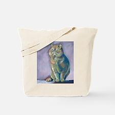 Nigel - Red Exotic Shorthair Tote Bag