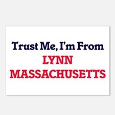 Trust Me, I'm from Lynn M Postcards (Package of 8)