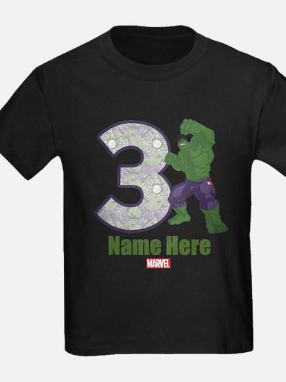 Personalized Hulk Age 3 T