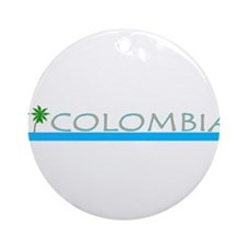 Colombia Ornament (Round)