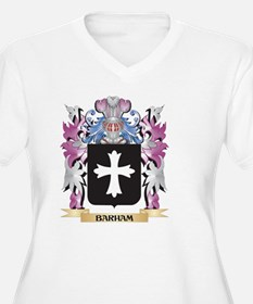 Barham Coat of Arms (Family Cres Plus Size T-Shirt