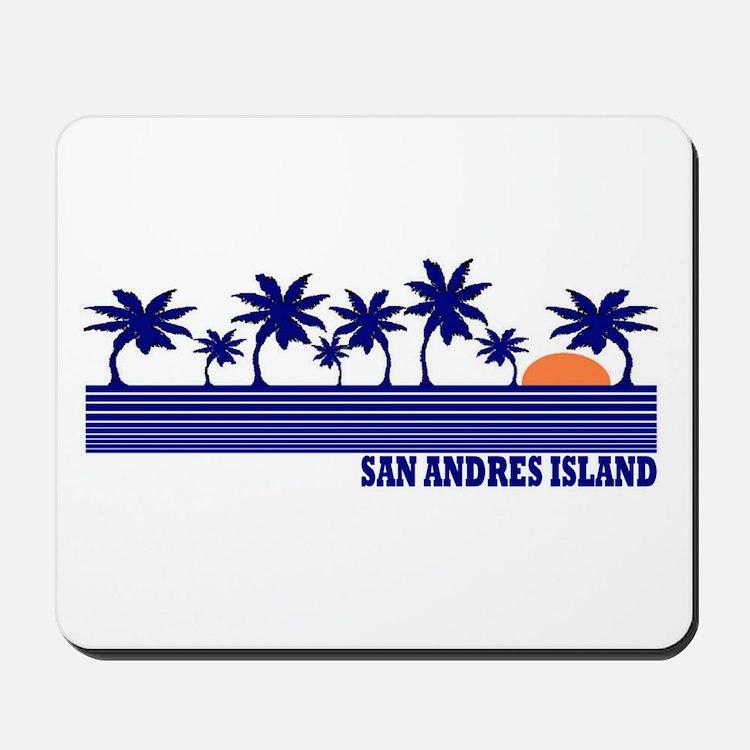 San Andres Island Mousepad