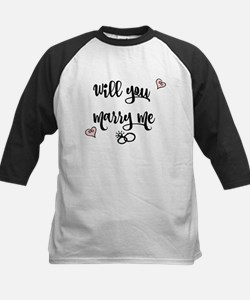 Will you Marry me Baseball Jersey
