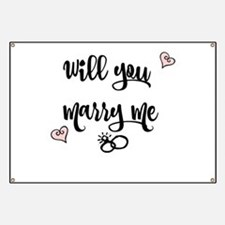 Will you Marry me Banner