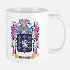 Barker Coat of Arms (Family Crest) Mugs