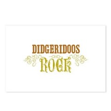 Didgeridoos Postcards (Package of 8)