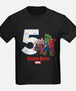 Personalized Avengers Birthday A T