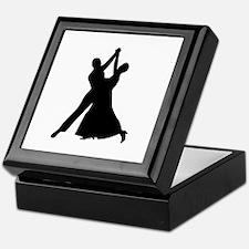 Standard dancing Keepsake Box