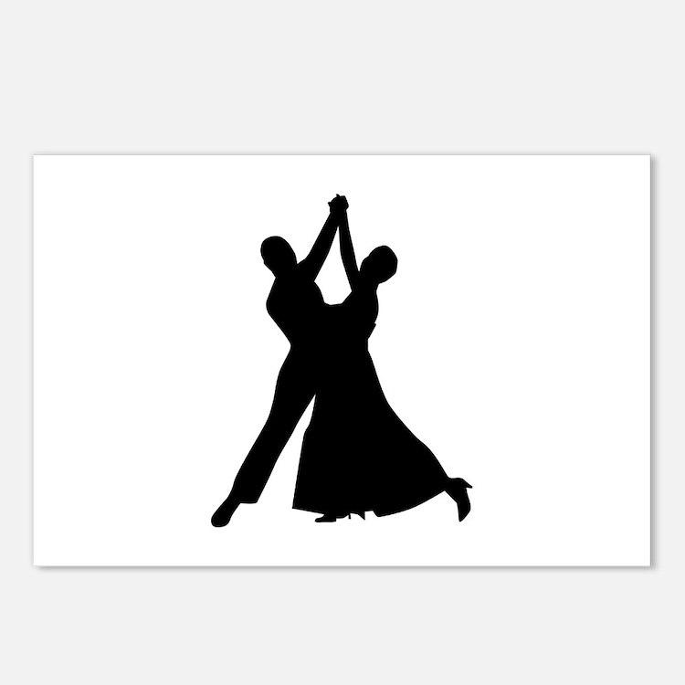 Standard dancing Postcards (Package of 8)