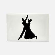 Standard dancing Rectangle Magnet