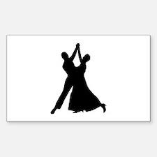 Standard dancing Decal