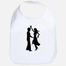Standard dancing couple Bib