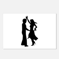 Standard dancing couple Postcards (Package of 8)