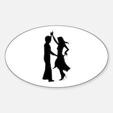 Standard dancing couple Decal
