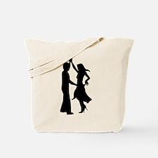 Standard dancing couple Tote Bag