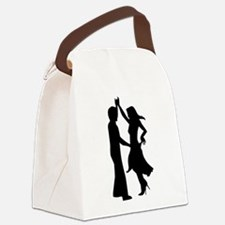 Standard dancing couple Canvas Lunch Bag