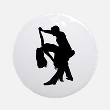 Dancing couple Round Ornament