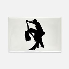 Dancing couple Rectangle Magnet