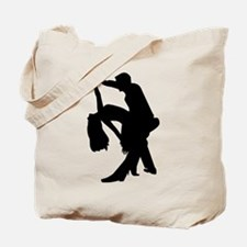 Dancing couple Tote Bag