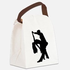 Dancing couple Canvas Lunch Bag