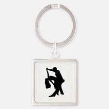 Dancing couple Square Keychain